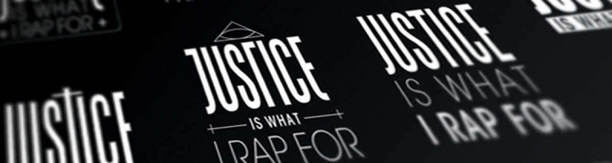 Mastamic - Justice Is What I Rap For mixtape design